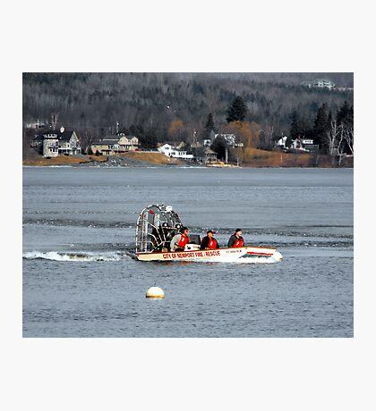Rescue Drill Photographic Print