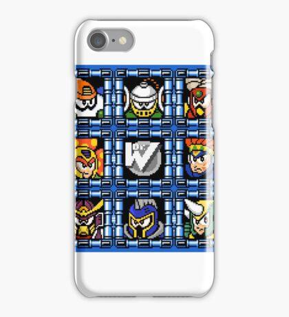 Megaman 6 boss select iPhone Case/Skin