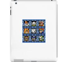 Megaman 6 boss select iPad Case/Skin