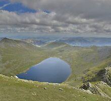 The Lake District: Red Tarn from Helvellyn by Rob Parsons
