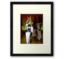 Awa Odori  Framed Print