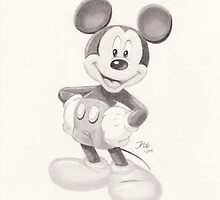 Micky Mouse by jayellbee