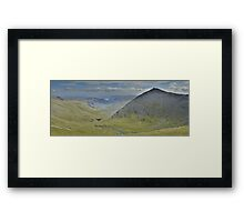 The Lake District: Catstycam Framed Print
