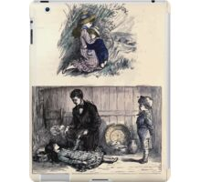 The Little Folks Painting book by George Weatherly and Kate Greenaway 0083 iPad Case/Skin