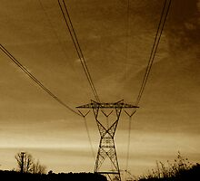 ElectroSepia  by Jonathan  Green
