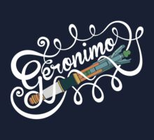Doctor Who Geronimo! Baby Tee