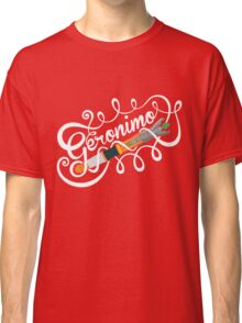 Doctor Who Geronimo! Classic T-Shirt