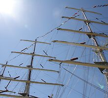 Tall Ship Masts by decorartuk