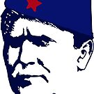 Tito Josip Broz yugoslavia  -  portrait red star  by SofiaYoushi