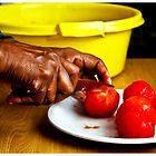 many hands make light work. by Samantha  Dormehl
