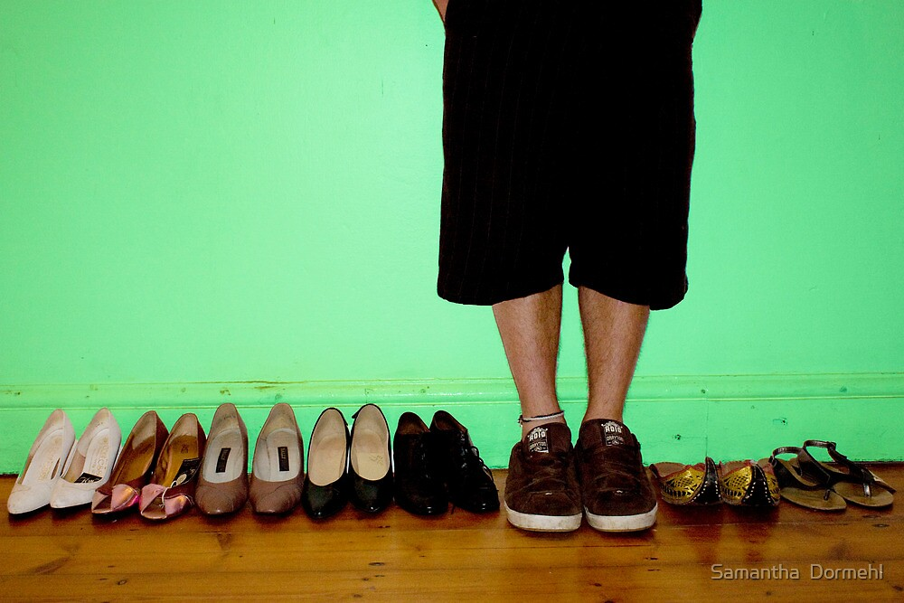 if the shoe fits. by Samantha  Dormehl
