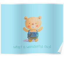 What a wonderful day! Poster
