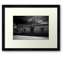 Hear the Mission Bells Framed Print