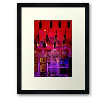 Changing Colors Framed Print