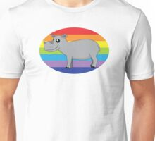 Kennedy The Hippo Unisex T-Shirt