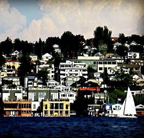 Lake Union by imagesbylori