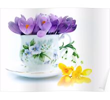 A cup full of Spring Poster