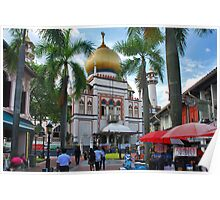 Singapore, Sultan Mosque 2 Poster