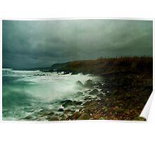 In At Toab....Sumburgh,Shetland. Poster
