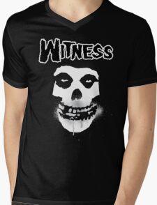 WITNESS Mens V-Neck T-Shirt