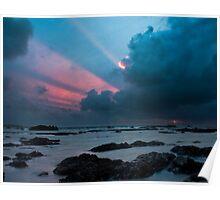 Clifden Sunset Poster