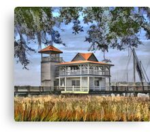 Boat House - GA Canvas Print