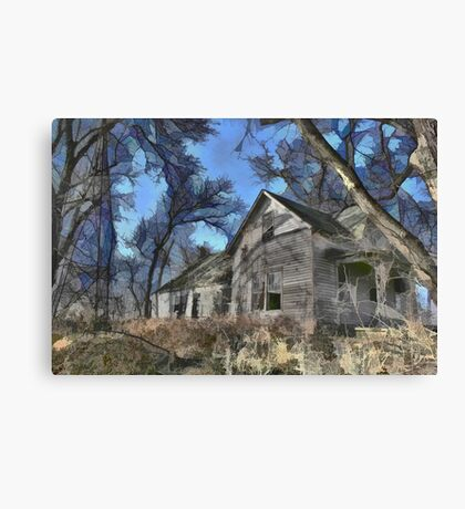 Abandoned House - Ohio Canvas Print