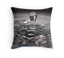 Water Drop Series 1 Throw Pillow