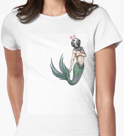 mermaid invader tee (front) T-Shirt