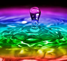 Water Drop Series 2 by Reza G Hassani