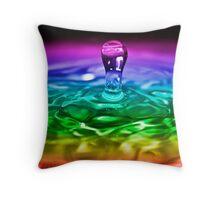 Water Drop Series 2 Throw Pillow