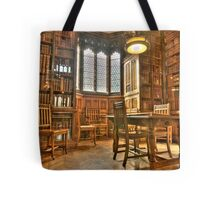 """Quiet Please in the Library"" Tote Bag"