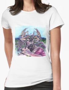 Lavendeer Womens Fitted T-Shirt