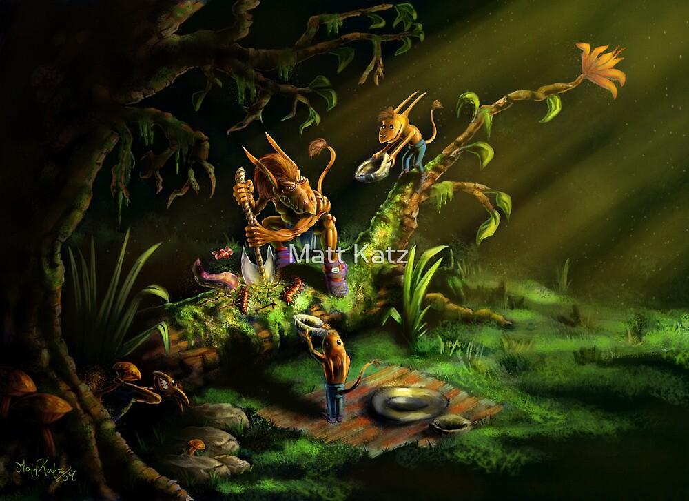 Forest Goblins by Matt Katz