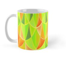 Citrus Geometric Pattern Mug