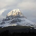 Snow on the Crowsnest Mountain by Alyce Taylor