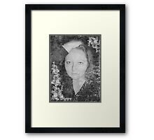 Her Love Will Never Fade Framed Print