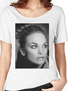 Jade Old Hollywood Women's Relaxed Fit T-Shirt