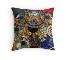 Inside the Whimsey Home #1 Throw Pillow