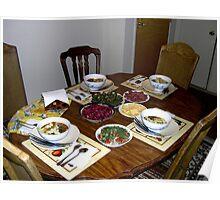 """ Uzbekistan dinner "" Poster"