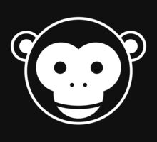 Monkey - Simple Face Ver. 2.0 One Piece - Short Sleeve