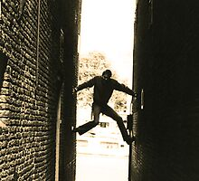 Climbing the walls by Michael Brewer
