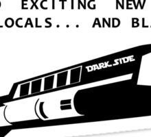 Dark Side Galactic Tours Sticker