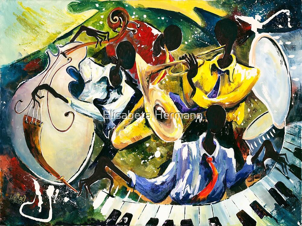 "Jazz no. 1 - The Unforgettable ""French Quarter""  by Elisabeta Hermann"