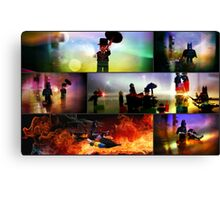 Lego Batman Collection Collage Canvas Print