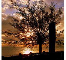 Land,Sea and Sky.  Photographic Print