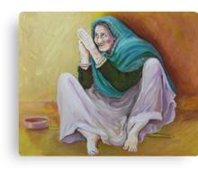 Beggar Canvas Print