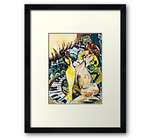 """Jazz No.2  - The Unforgettable """"French Quarter"""" Framed Print"""