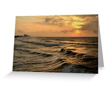 Off Shore Storm Greeting Card
