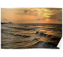 Off Shore Storm Poster